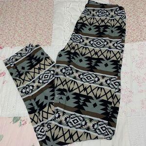 Pants - Take 50% OFF Aztec Microfiber leggings